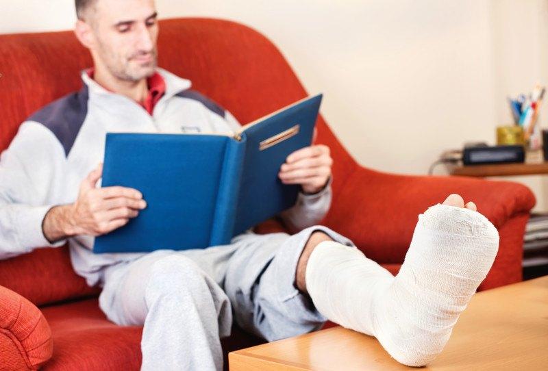 Fraturas no tornozelo